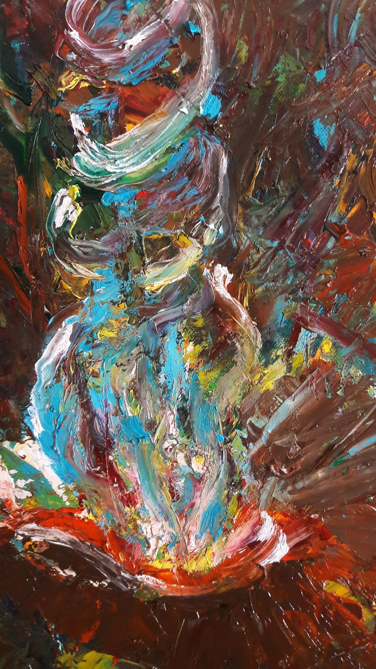 Warrior Painting